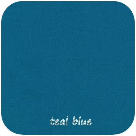 Kona Cotton Solids TEAL BLUE