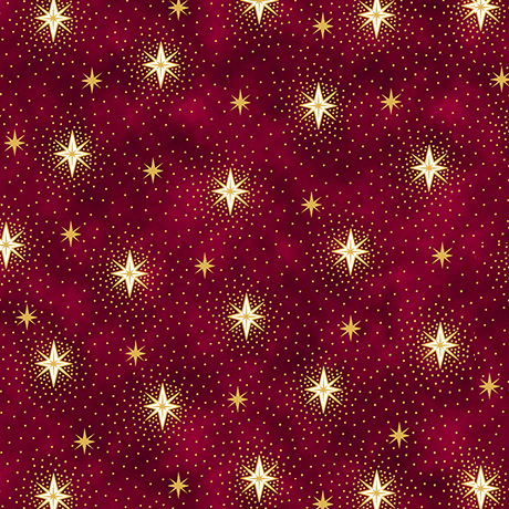 Sparkling Stars - RED