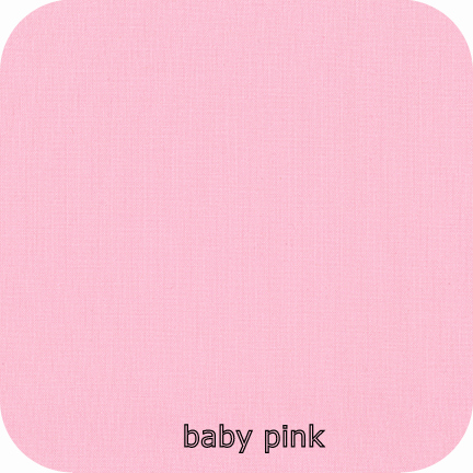 Kona Cotton Solids BABY PINK