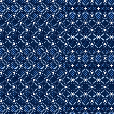 Danbury - Lattice Geo Navy