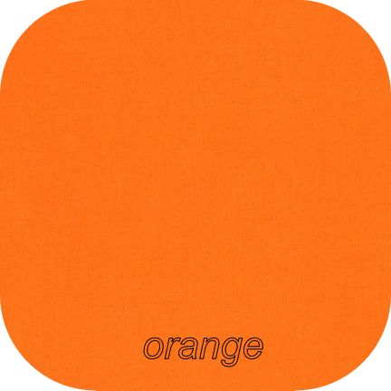 Kona Cotton Solids ORANGE