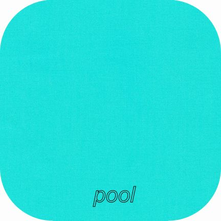 Kona Cotton Solids POOL