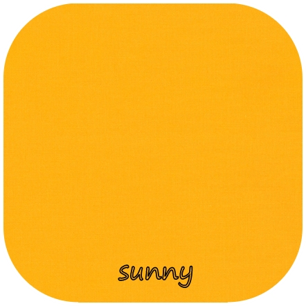Kona Cotton Solids SUNNY