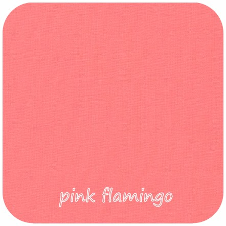 Kona Cotton Solids PINK FLAMINGO - 42cm