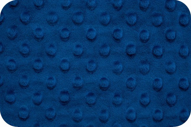 Minky Cuddle Dimple ROYAL BLUE