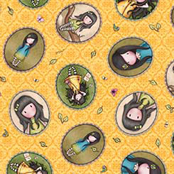 Birds of a Feather - Girl Patches tossed yellow