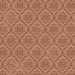 Birds of a Feather - Damask brown