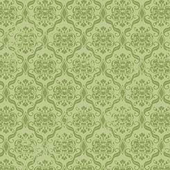 Birds of a Feather - Damask green