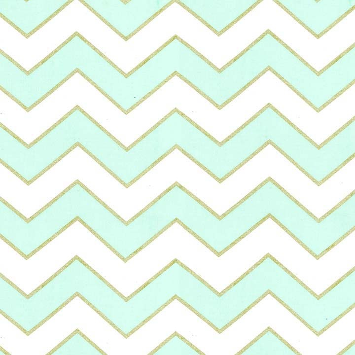 Glitz - Chic Chevron Pearlized - Mist