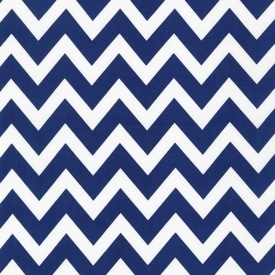 Remix Navy Chevron