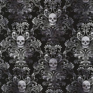 Úplet - Scull Damask