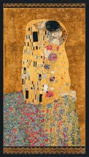 Gustav Klimt - panel The Kiss